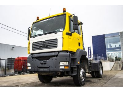 MAN TGA 18.410 BLS - 4x4 - MANUAL