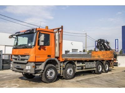 MERCEDES ACTROS 3336 MP3 + HIAB 21 T/M ( 3xH + Remote C.)